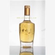 供应广州装一斤装现模玻璃白酒瓶
