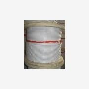 供应涂塑包胶钢丝绳,各种颜色胶,订做