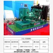 厂家供应防城港200kw发电机,防城港厂家直销200KW玉柴发电机