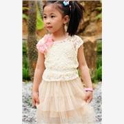 童装服饰-童装牛仔装-童装韩版批发-童装女童大衣韩