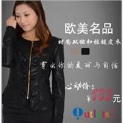 2011欧美时尚皮衣绵羊皮羽绒服找广州创丽斯有限公司