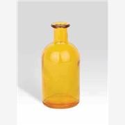 销售义乌小花瓶,调料瓶,化妆品瓶,玻璃杯,玻璃碗,玻璃瓶蒙砂烤花