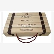 供应六只装红酒木箱,六只装酒箱,红酒木箱,红酒木盒
