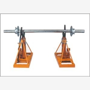 供应轨道式线缆盘支架,大型液压放线架