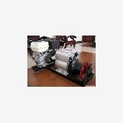 供应精品3T机动绞磨,5T柴油机动绞