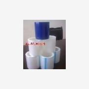 供应浅蓝静电膜 PE静电透明保护膜