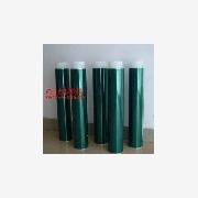 供应绿胶带 聚酯薄膜遮蔽胶带 耐酸碱