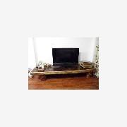 供应工厂直销红木信誉彩票网具鸡翅木大板餐桌电视柜实木大板