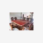 供应原木大板实木家具东阳红木红花梨大板最便宜的大板茶几