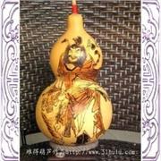 供应~仿古浮雕酒葫芦~酒具 天然葫芦 烙画葫芦 工艺品礼品饰品