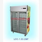 供应  立式低温玻璃冷柜